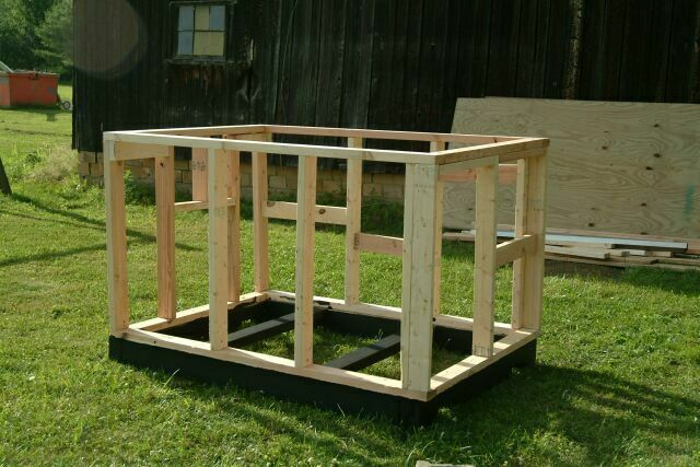 building a dog house